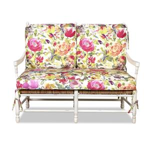 Klaussner Chairs and Accents Homespun Accent Loveseat