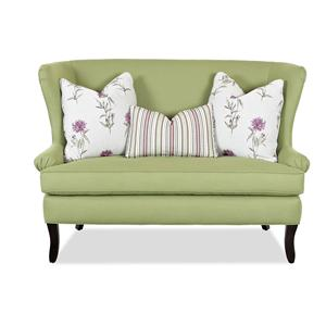 Klaussner Chairs and Accents Seagrove Accent Settee
