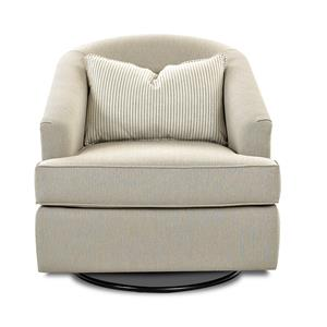 Klaussner Chairs and Accents Devon Swivel Glide Chair