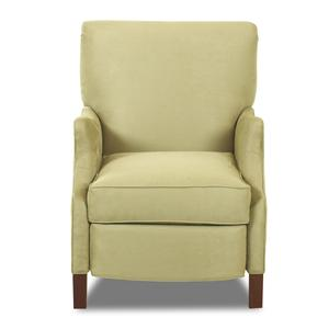 Klaussner High Leg Recliners Ava Reclining Chair