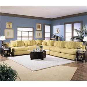 Klaussner Melrose Place Four Piece Sectional