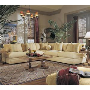 Klaussner Melrose Place Three Piece Sectional