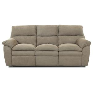 Klaussner Sanders Upholstered Reclining Sofa