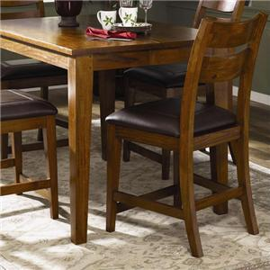 Klaussner International Urban Craftsmen Bar Stool