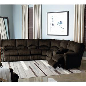 Lane Alpine Motion Sectional Sofa With Wedge Sprintz Furniture Reclining Sectional Sofa