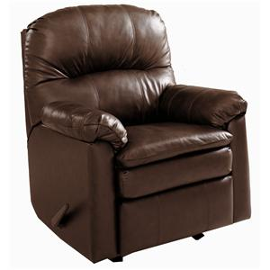 Lane Touchdown Leather Rocker Recliner
