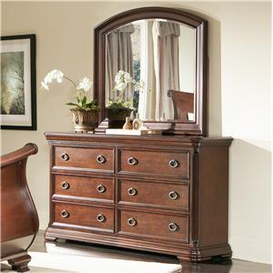 Largo Marseille  Dresser and Mirror