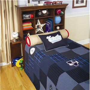 Legacy Classic Kids American Spirit Full Bookcase Headboard