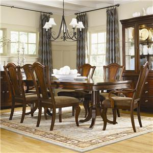 Legacy Classic American Traditions 7-Piece Pedestal Table & Chair Set