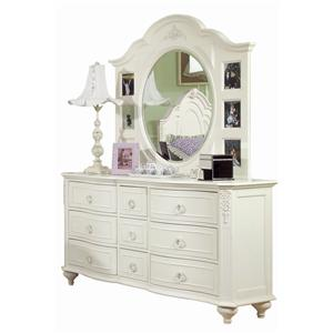 Legacy Classic Kids Enchantment Dresser and Mirror