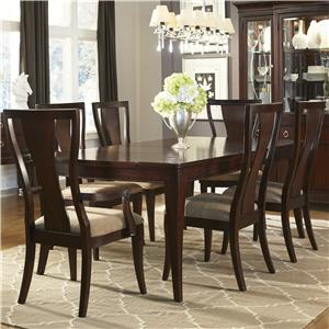 Legacy Classic Laurel Heights Rectangular Table and Splat Back Chair Set
