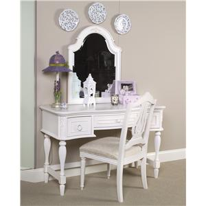 Legacy Classic Kids Reflections Vanity & Mirror Set