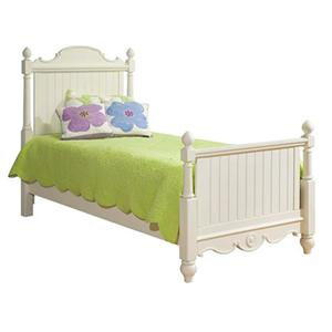 Legacy Classic Kids Summer Breeze Full Scroll Top Low Poster Bed