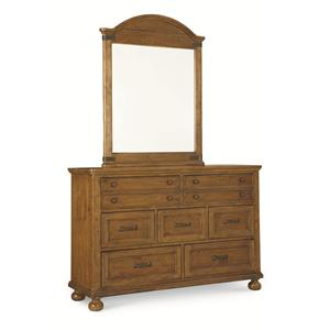 Legacy Classic Kids Bryce Canyon Dresser and Mirror Set