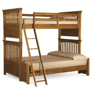 Legacy Classic Kids River Run Twin Over Full Bunk Bed