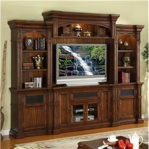 Legends Furniture Berkshire  Wall Unit Entertainment Center