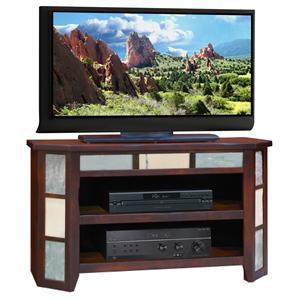 "Legends Furniture Fire Creek 42"" Angled TV Cart"