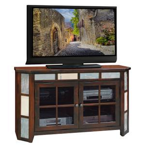 "Legends Furniture Fire Creek 51"" Angled TV Console"