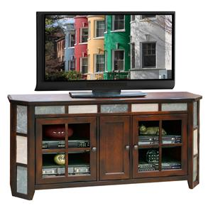"Legends Furniture Fire Creek 62"" TV Angled Console"