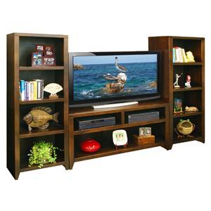 "Legends Furniture Urban Loft 48"" TV Cart & 2 Bookcase Piers"