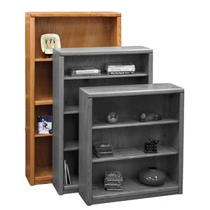 Legends Furniture Contemporary - Value Groups Bookcase With 1 Fixed & 2 adj. Shelves