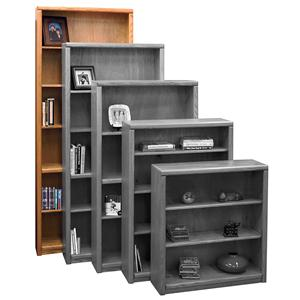 Legends Furniture Contemporary - Value Groups Bookcase With 1 Fixed & 4 adj. Shelves