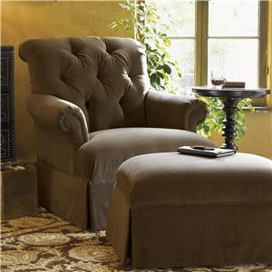Tommy Bahama Home Kingstown Augustine Chair & Ottoman