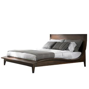Lexington 11 South King Urbana Sleigh Bed