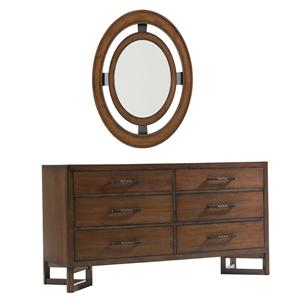 Lexington 11 South Dresser & Mirror Combo