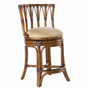 Tommy Bahama Home Island Estate <b>Quick Ship</b> South Beach Counter Stool