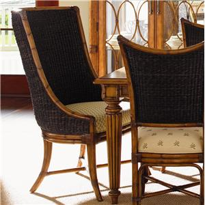 Tommy Bahama Home Island Estate <b>Quick Ship</b> Cruz Bay Host Chair
