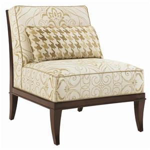 Lexington St. Tropez Montaigne Armless Chair