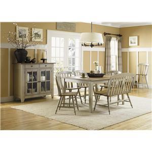 Liberty Furniture Al Fresco Dining Room Group