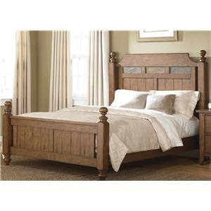 Liberty Furniture Hearthstone Queen Poster Bed