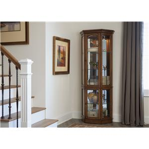 Liberty Furniture Hearthstone 2 Piece Curio