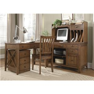Liberty Furniture Hearthstone L-Shaped Desk