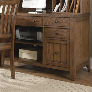 Liberty Furniture Hearthstone Computer Credenza