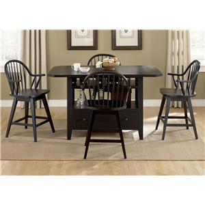 Liberty Furniture Hearthstone 5 Piece Pub Set