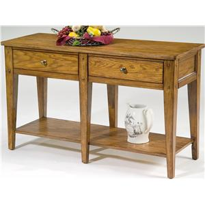 Liberty Furniture Lake House Sofa Table