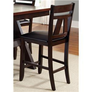 Liberty Furniture Lawson Splat Back Counter Chair (RTA)