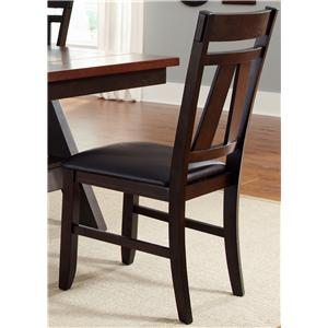 Liberty Furniture Lawson Splat Back Side Chair (RTA)