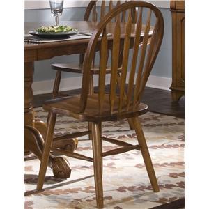 Liberty Furniture Nostalgia  Arrow Back Windsor Side Chair