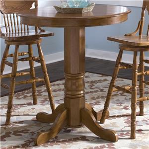 Liberty Furniture Nostalgia  Round Pub Table