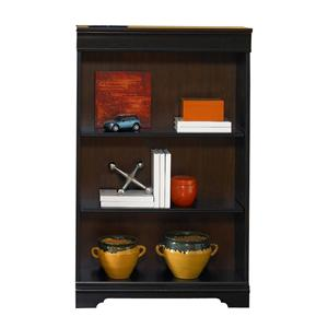 Liberty Furniture St. Ives 48-Inch Executive Open Bookcase