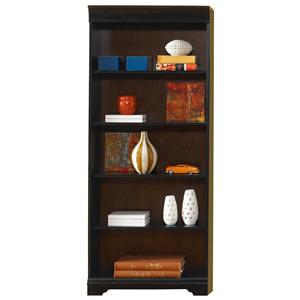 Liberty Furniture St. Ives 72-Inch Executive Open Bookcase