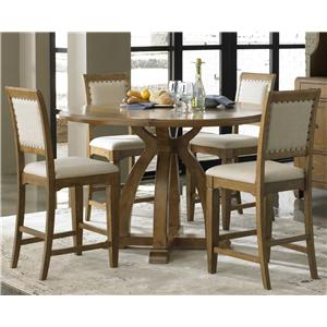 Liberty Furniture Town & Country 5 Piece Gathering Table Set