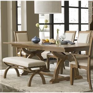 Liberty Furniture Town & Country Trestle Dining Table