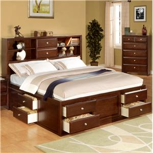 Lifestyle 9180 Queen Storage Bed