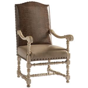 Lillian August Custom Upholstery Gatewick Host Chair