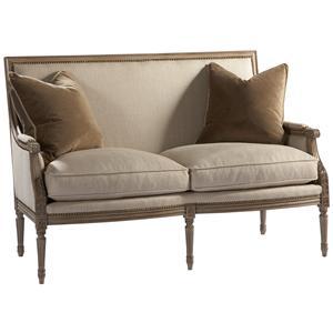 Lillian August Custom Upholstery Exeter Loveseat